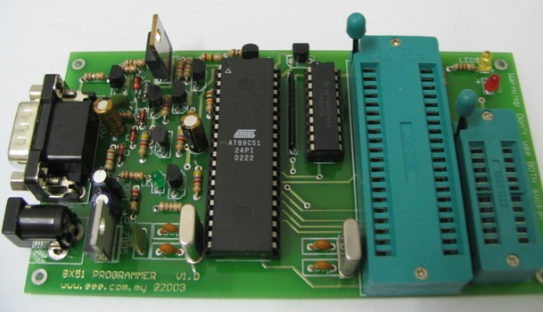 8051 programmer for Architecture 8051 microcontroller